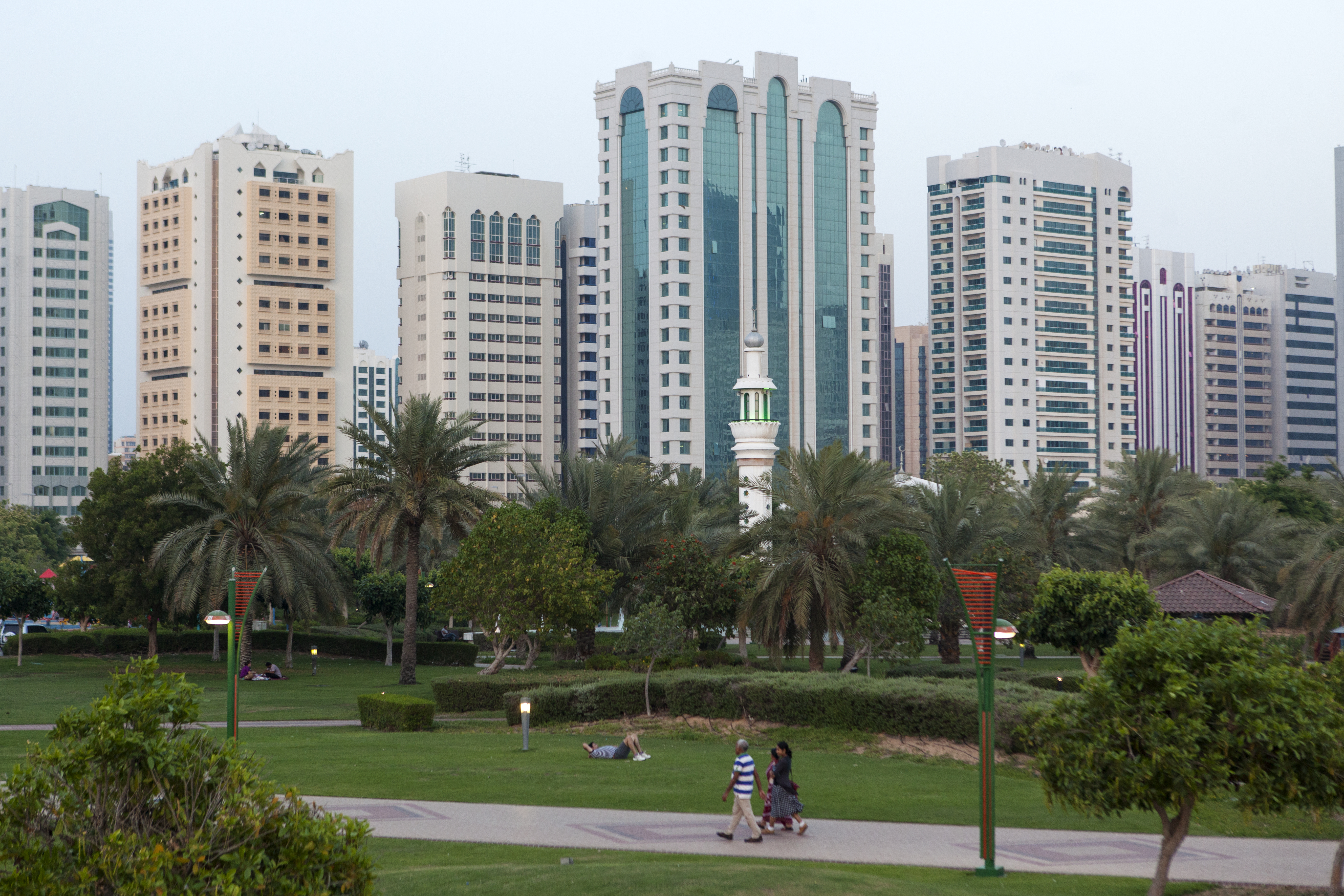 The Streets of Abu Dhabi