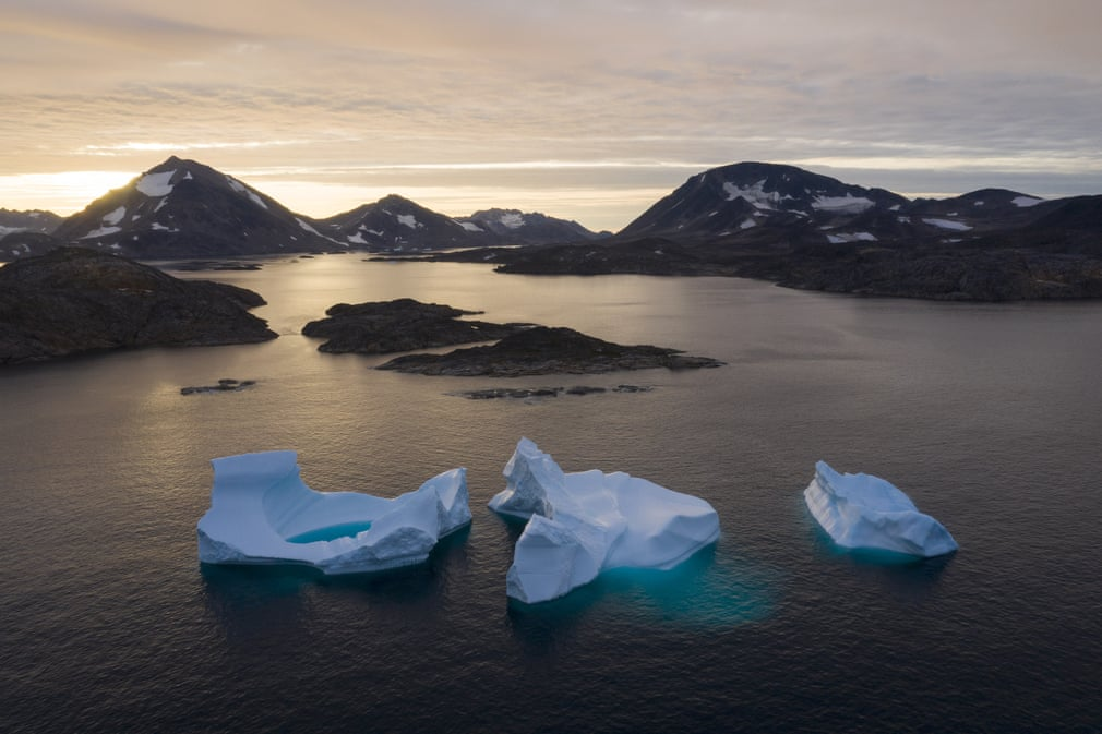 Tracking the melt in Greenland's ice sheet – in pictures