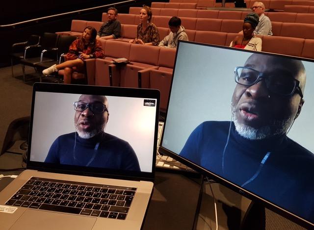 EC presents Arlit: Second Paris with filmmaker Idrissou Mora-Kpai by video
