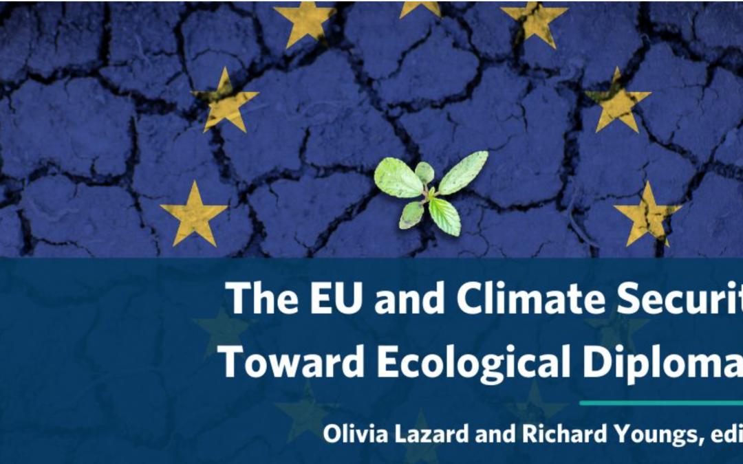 Ecological Diplomacy and EU International Partnerships: China, Africa, and Beyond