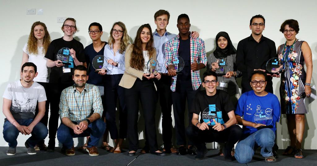 2016 Hackathon Winners